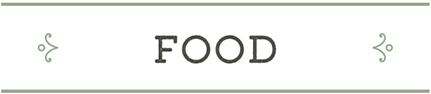 Bassettwood Menu – Food Header